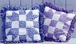 Four X pillow pattern